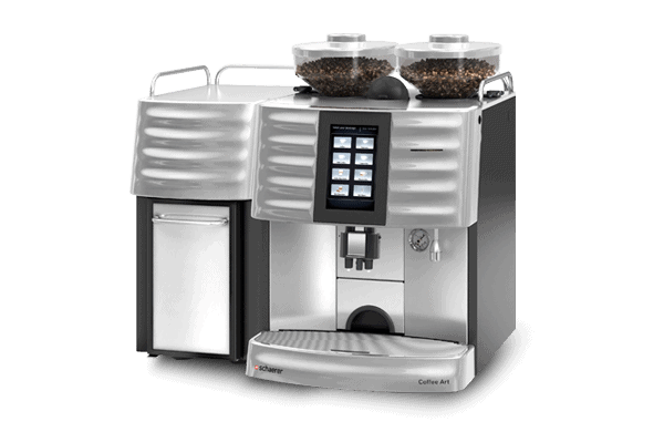 SCHAERER Coffee Art_FRIDGE_SILVER